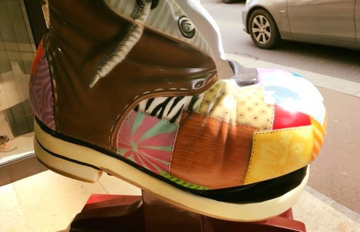 « chaussure manège » relookée