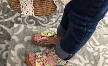 L'été sera en Stones & Bones pour mademoiselle !!! Les sandales top!! #stonesandbones#diabolomenthebayeux#sandales#chaussuresenfants#sandalesete2021